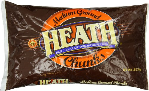 Hershey's Crushed Heath Bars, 5 Pound ()