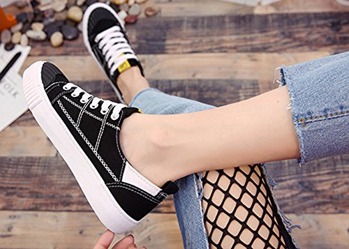 Aisun Respirant Chaussures Femme Ferm Plat Mode Bout TqETUrP