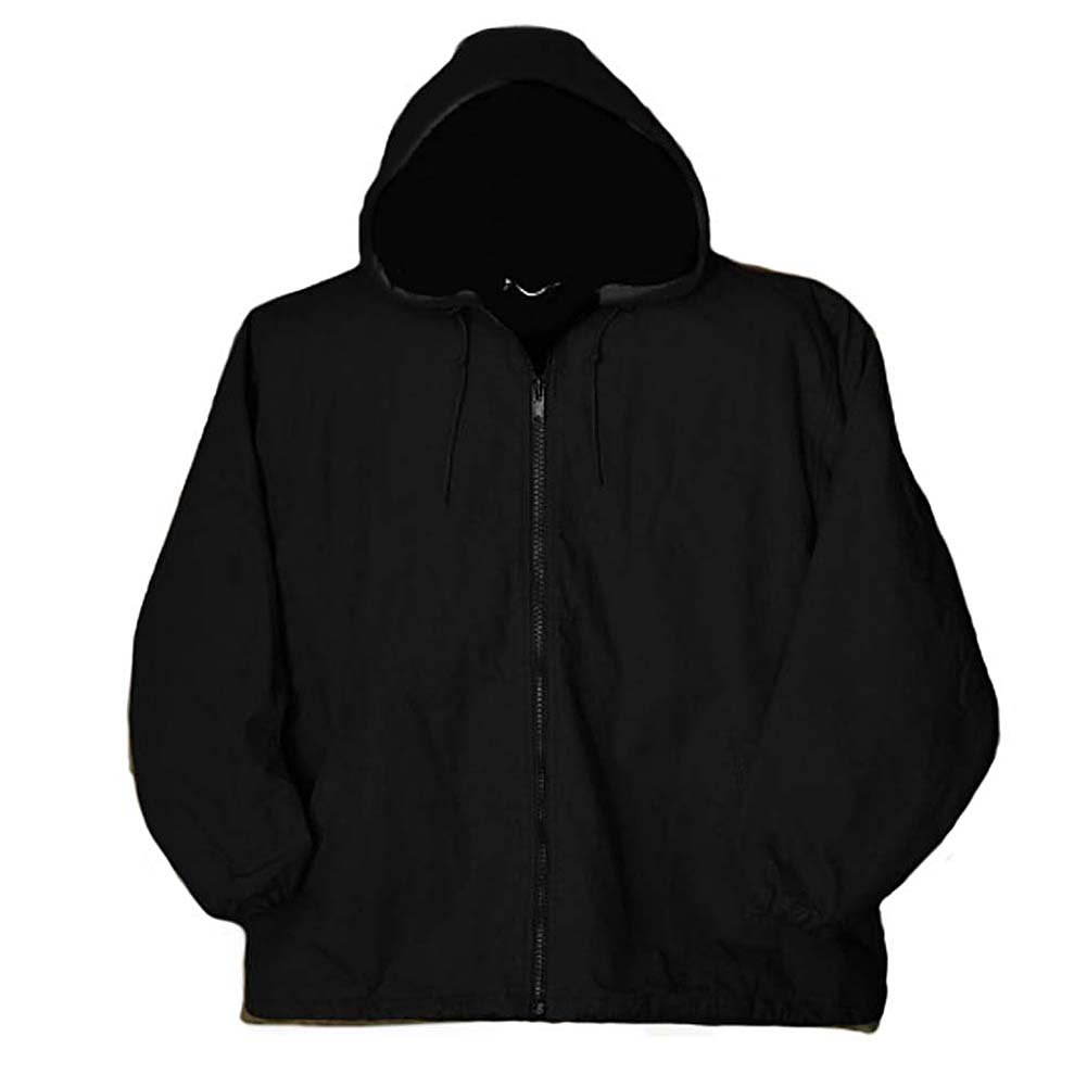 Greystone Mens Big and Tall Hooded Duck Cloth Insulated Work Jacket