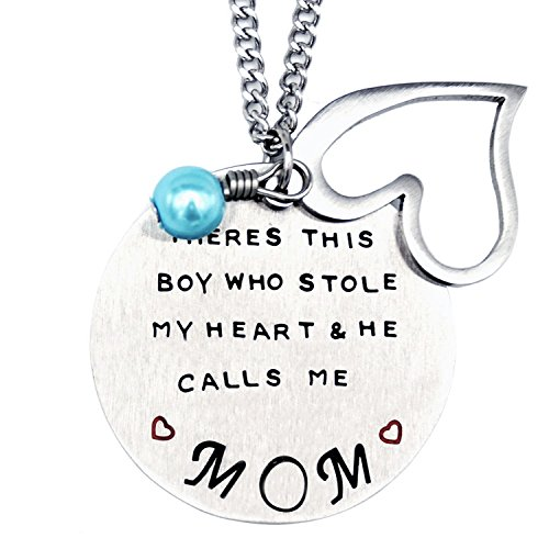 O.RIYA Mother's Day Gift From Son Necklace ,