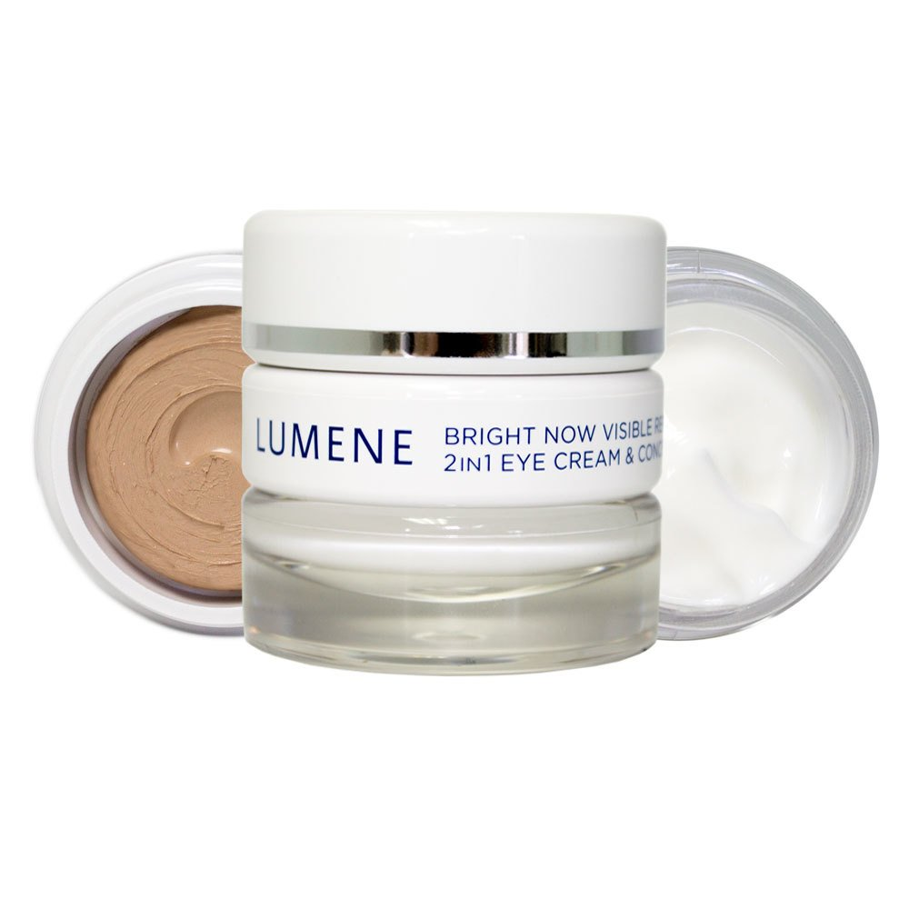 Lumene Bright Now Visible Repair 2 in 1 Eye Cream and Concealer, 0.57 Fluid Ounce by Lumene