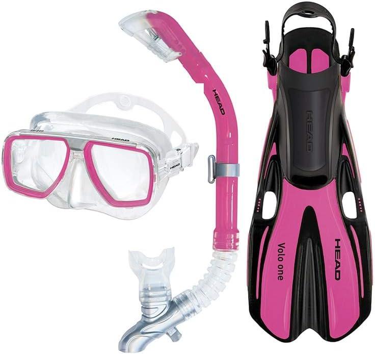 Head Tarpon2//Barracuda Volo Mask Snorkel Fins Set
