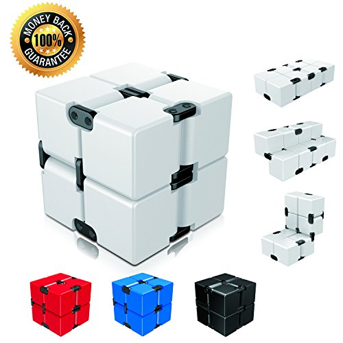 Infinity Cube Fidget Cube Toy for Adults & Kids Relieve Stress & Anxiety