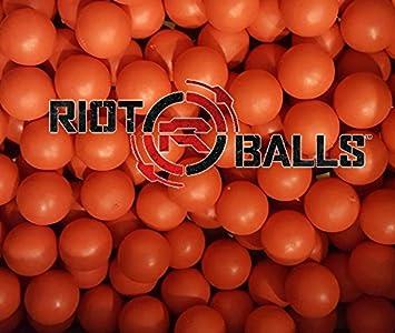 Reutilizable de pelotas de bolas de goma espuma 68 cal Tac bolas ...