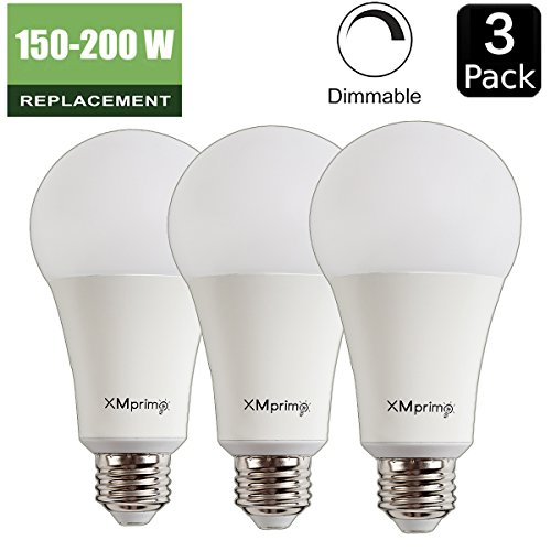 22w 150w 200w equivalent a21 dimmable led light bulb 2680 lumens e26 medium screw base. Black Bedroom Furniture Sets. Home Design Ideas