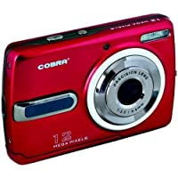 COBRA DIGITAL DCA1220-RED 12.0 Megapixel DCA1220 Digital Camera (Red)