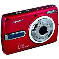 COBRA DIGITAL DCA1220-RED 12.0 Megapixel DCA1220 Digital Camera (Red)