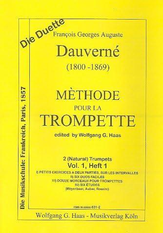 Método pour la Trompette Vol.1: Dauverne, Francois Georges ...
