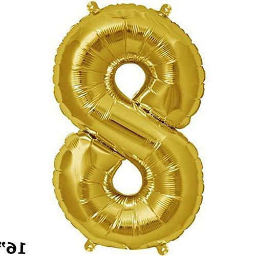 Mikash 16 Tall Mylar Foil Balloons Birthday Party Wedding Decorations Supply Wholesale | Model WDDNGDCRTN - 11107 |]()