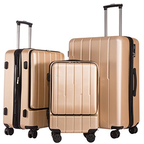 coolife-luggage-expandable-suitcase-3-piece-set-with-tsa-lock-with-computer-pocket-champagne