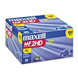 Consumer Electronic Products Maxell 3.5'''' 1.44 MB Floppy Disk (100 -Pack) Supply Store