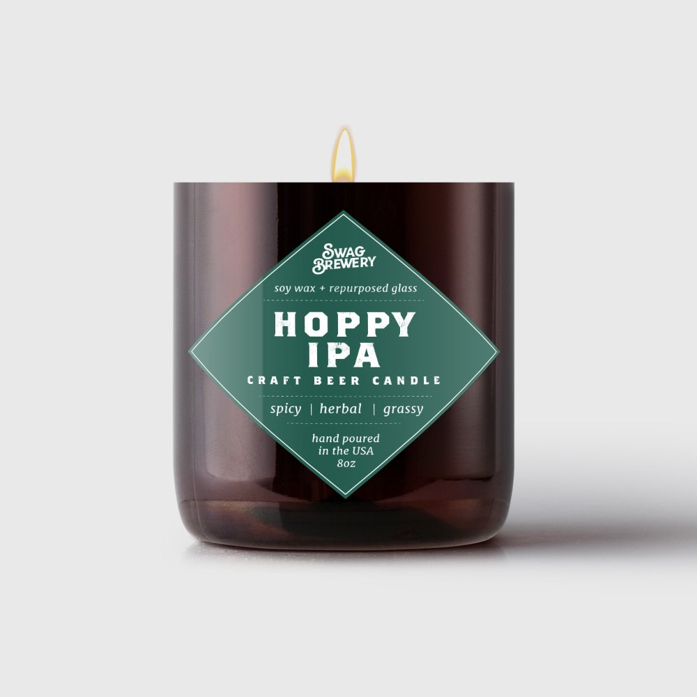 Brew Candle ( Made in USA ) 753677408791 B012XRBBD2  Hoppy Ipa