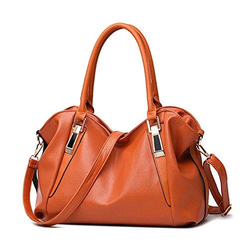 Meaeo Sac Main À Avec Main À Dame Orange Mode Grande Capacité Chaussures De Nouveau Sac Sac Dames Orange Une Sac 8r8w4