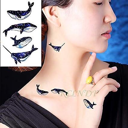 BRT Impermeable Temporal Tatuaje Pegatina Scorpion Halloween Flash ...