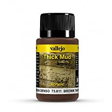 Vallejo Brown Thick Mud Model Paint Kit