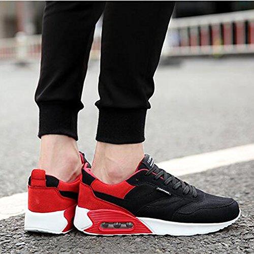 XUEQIN Scarpe Uomo Scarpe Sportive Scarpe Casual Scarpe da ginnastica invisibile degli alti talloni degli scarponi da uomo ( dimensioni : EU43/UK9/CN44 )
