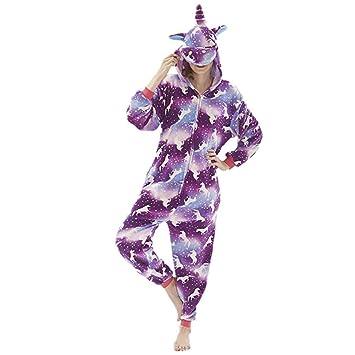 OLLOLCCY Unicornio Cosplay Halloween Y Navidad Pijama ...