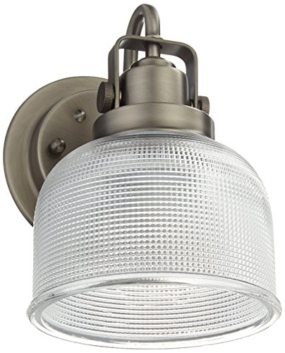 Progress Lighting Archie Collection 2 Light Antique Nickel: Progress Lighting P2989-81 Archie Collection 1-Light