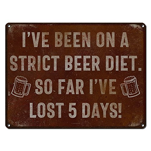 days on a diet sign