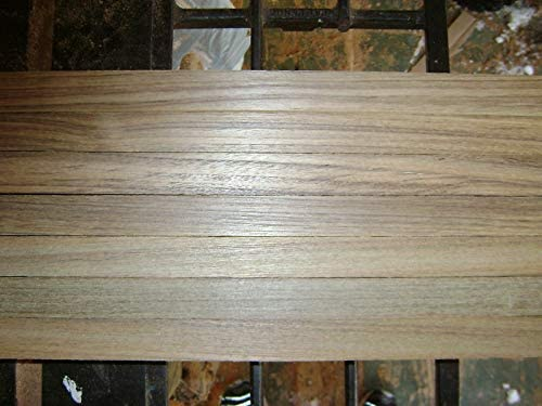 "Exotic Wood Premium Marine Teak Lumber  4/"" X 16/"" X 1//4/"" NICE!"