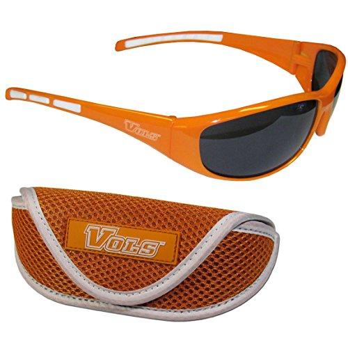 Siskiyou NCAA Tennessee Volunteers Wrap Sunglasses & Sport Case, Orange by Siskiyou