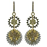 Steampunk Cupid Dangle Earrings | Nickel-free Valentine Gift with Retro Style