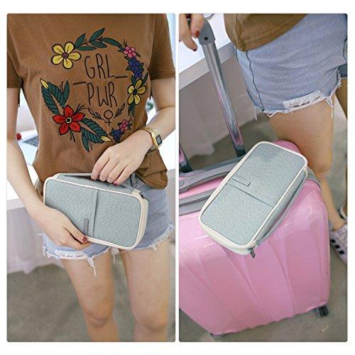 Pasaporte Claro Almondcy Para Cartera Azul 7qwBSEX