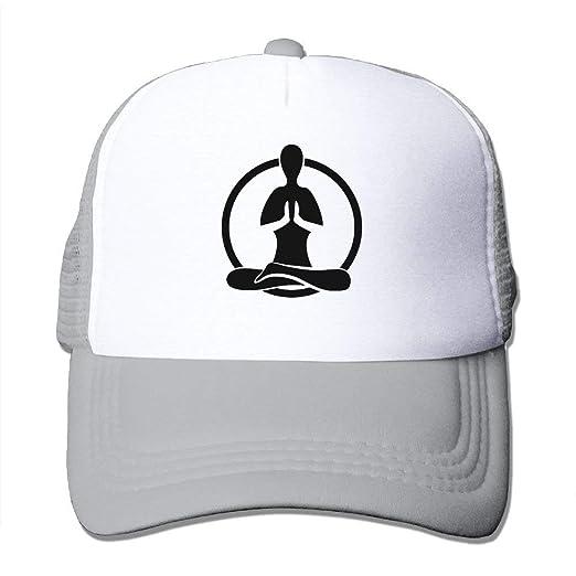 5a9805032344a Namaste Adjustable Sports Mesh Baseball Caps Trucker Cap Sun Hats at ...