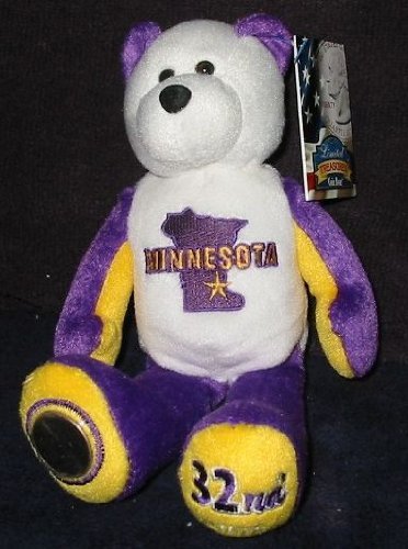 Limited Treasures Minnesota State Coin Bear by Limited Treasures
