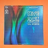 MILES DAVIS Quiet Nights CS 8906 2i LP Vinyl VG+ Cover G