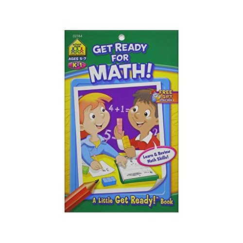 School Zone Pub SZP02744 LGR Get Ready For Math Book