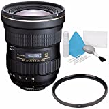 Tokina AT-X 14-20mm f/2 PRO DX Lens for Nikon F (International Model) No Warranty + Deluxe Cleaning Kit + 82mm UV Filter Bundle 1