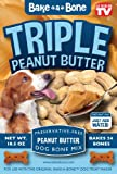 Bake-A-Bone Triple Peanut Butter Mix for Dog Treats