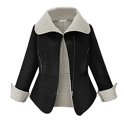 Sheepskin Suede Coat - 3