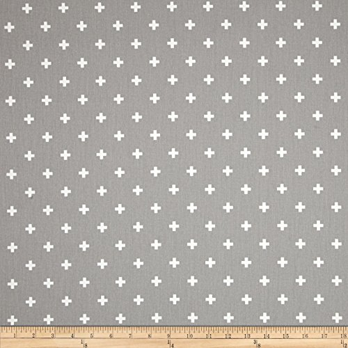 - Premier Prints Twill Mini Swiss Cross Storm