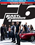 Cover Image for 'Fast & Furious 6 (Steelbook) (Blu-ray + DVD + Digital HD with UltraViolet)'