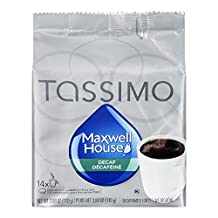 Maxwell House Tassimo Decaf Coffee T-Discs, 14-Count
