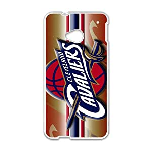 Cleveland Cavaliers NBA White Phone Case for HTC One M7