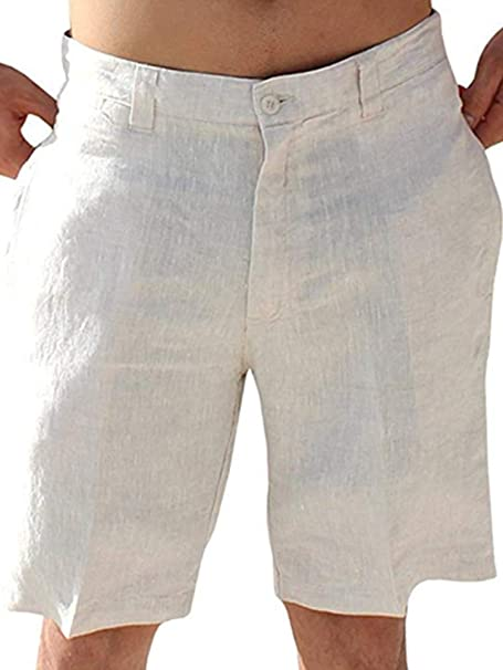 Essentials Solid Drawstring Linen Pant Donna