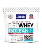 USN Diet Whey Isolean Protein, Cookies and Cream - 1 kg by USN