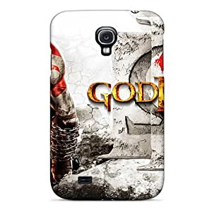 Cute Tpu Luckmore God Of War Iii Case Cover For Galaxy S4