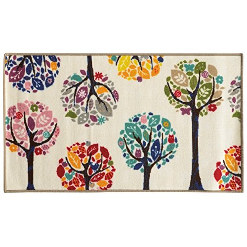 Zulily Exclusive Peace Trees Rug 22 X39