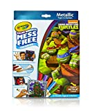 ninja turtle art kit - Crayola, Teenage Mutant Ninja Turtles, Color Wonder Mess-Free Coloring Metallic Paper and Markers, Art Tools, Great for Travel