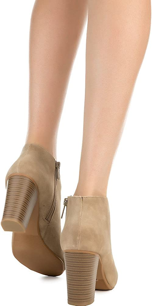 Shiekh Womens Grassy Ankle Boot Taupe