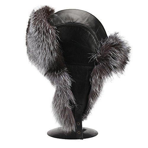 Quilted Trooper Fur Hat - 4