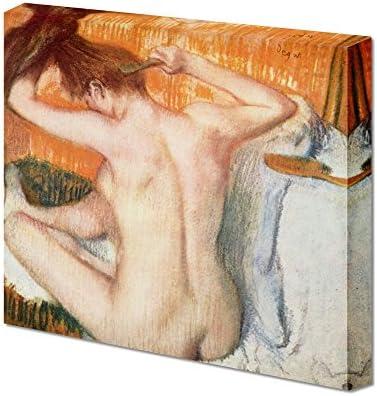 Woman Toilette Woman Back by Edgar Degas