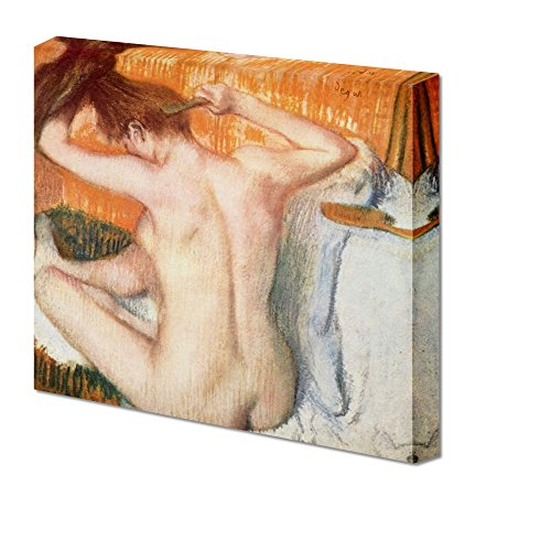 Woman Toilette Woman Back by Edgar Degas Giclee ped Gallery