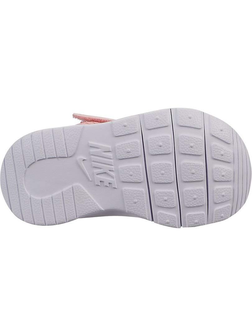 Nike Girl's Tanjun (TD) Toddler Shoe Pink Tint/Metallic Rose Gold/Atmosphere Grey Size 8 M US by Nike (Image #2)