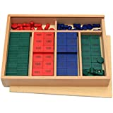 Vidatoy Wooden Colorful Mathematics Stamp Set Montessori Educational Toys For Kids