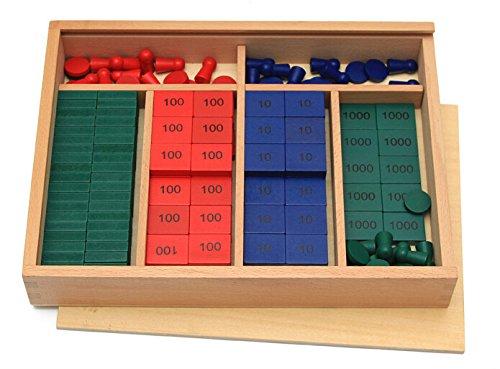 Vidatoy Colorful Mathematics Montessori Educational product image